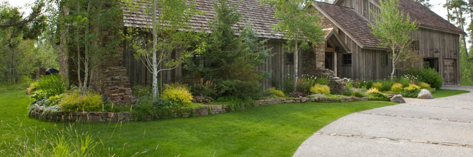 We've provided landscaping